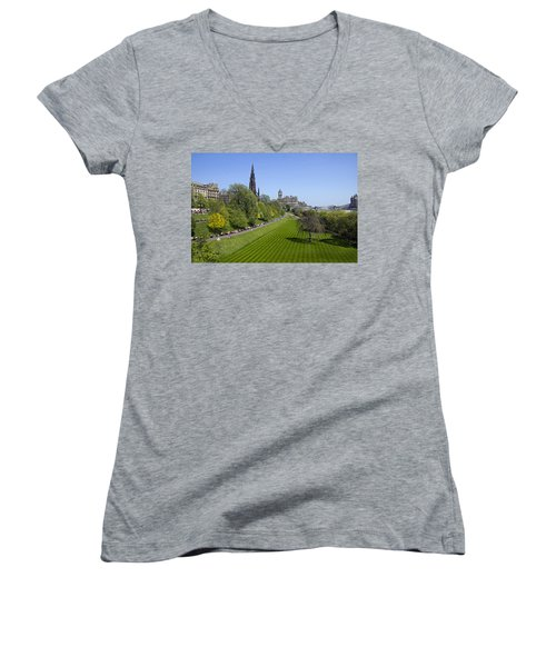 Princes Street Gardens Women's V-Neck