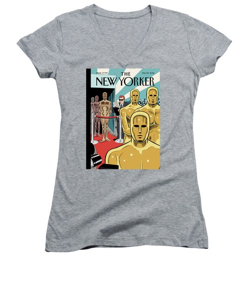 Privileged Characters Women's V-Neck