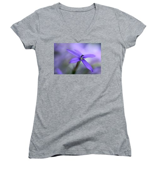 Purple Dreams Women's V-Neck