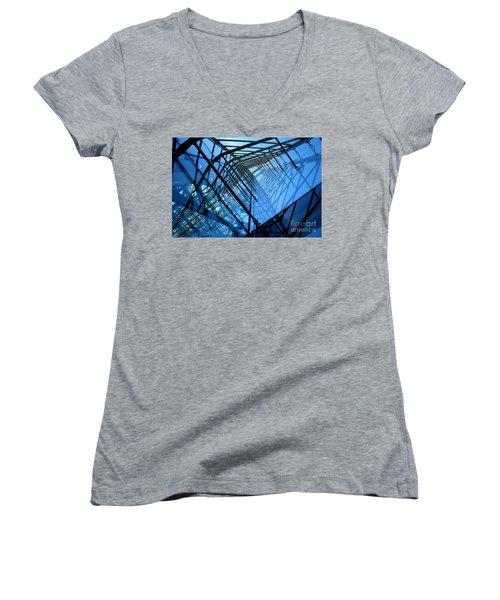 Quadrajunction Women's V-Neck T-Shirt