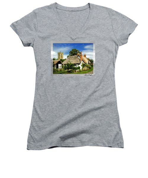 Quintessential Home Women's V-Neck