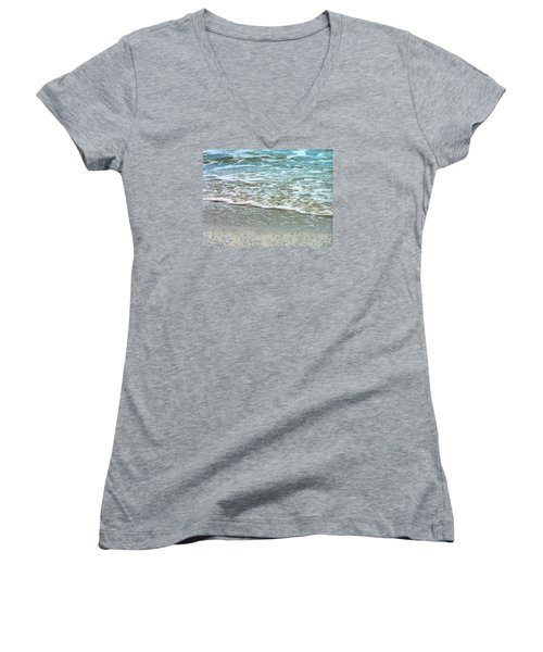 Rain Sea  Women's V-Neck T-Shirt