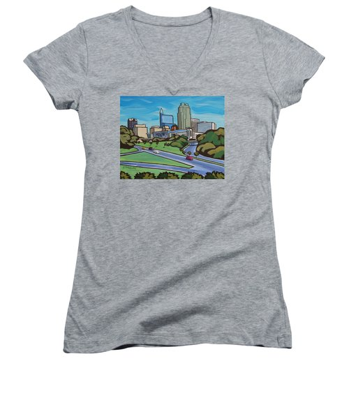 Raleigh Skyline 2 Women's V-Neck (Athletic Fit)