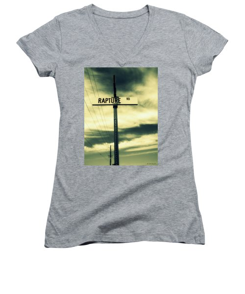 Rapture Road Women's V-Neck T-Shirt