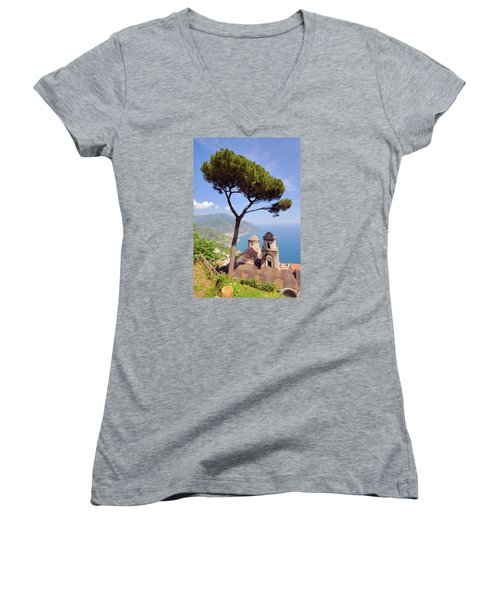 Ravello Pine Women's V-Neck T-Shirt