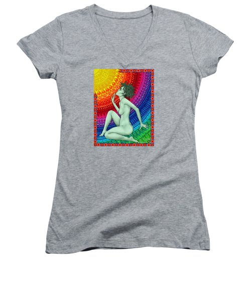 Ready For The Next Beam Women's V-Neck T-Shirt (Junior Cut)