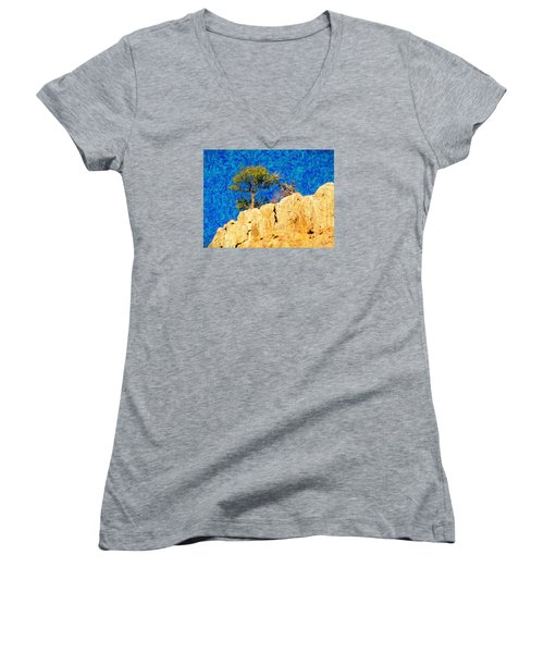 Red Canyon - Dixie National Forest Women's V-Neck T-Shirt