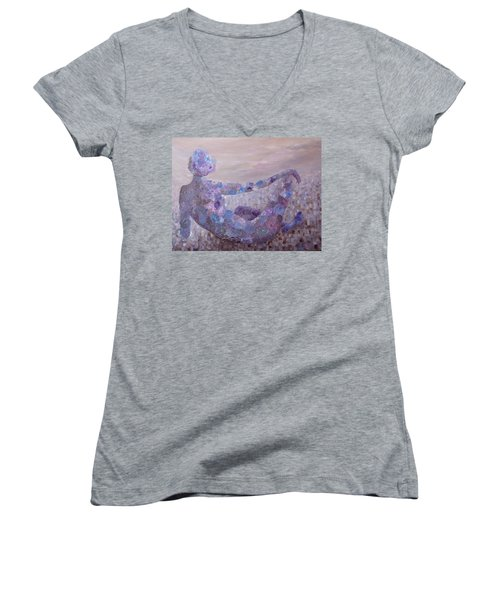 Reflecting Women's V-Neck