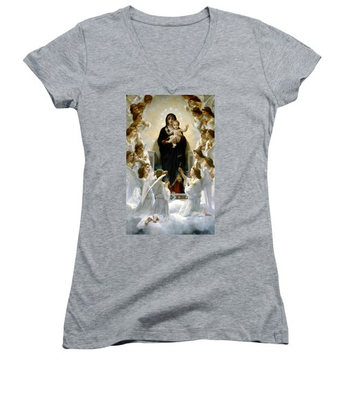 Regina Angelorum Women's V-Neck