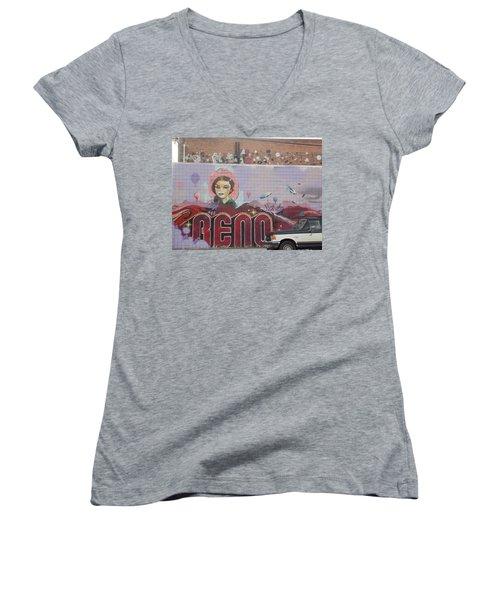 Reno Women's V-Neck T-Shirt