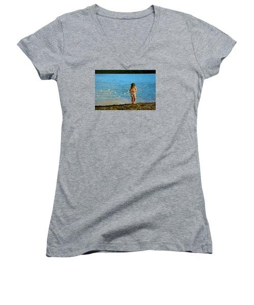 Rescuer Women's V-Neck T-Shirt