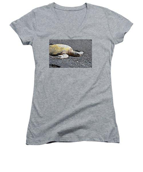 Rest Time Women's V-Neck T-Shirt