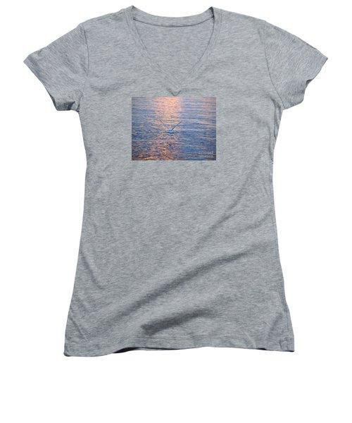 Returning  Women's V-Neck T-Shirt