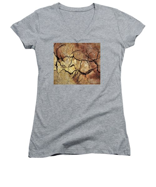 Rhinoceros From Chauve Cave Women's V-Neck (Athletic Fit)
