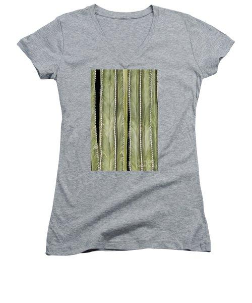 Ribs Women's V-Neck T-Shirt
