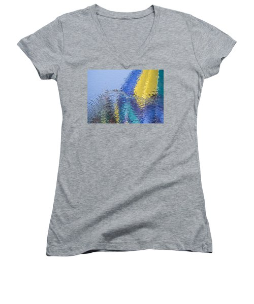 Ripples Women's V-Neck T-Shirt
