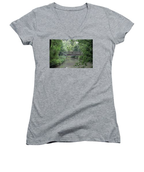River Great Ouse Women's V-Neck