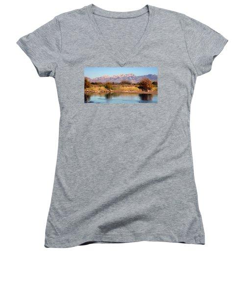 River View Mesilla Panorama Women's V-Neck