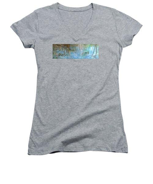 River's Stories  Women's V-Neck T-Shirt (Junior Cut)