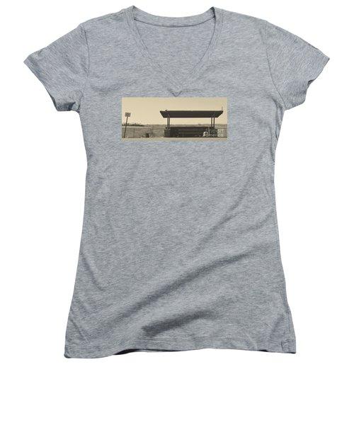 Roadside Rest Women's V-Neck T-Shirt
