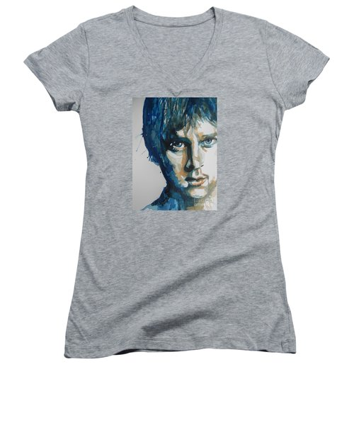 Rob Thomas  Matchbox Twenty Women's V-Neck T-Shirt
