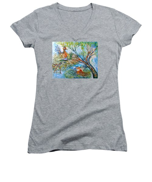Room With A View Women's V-Neck (Athletic Fit)