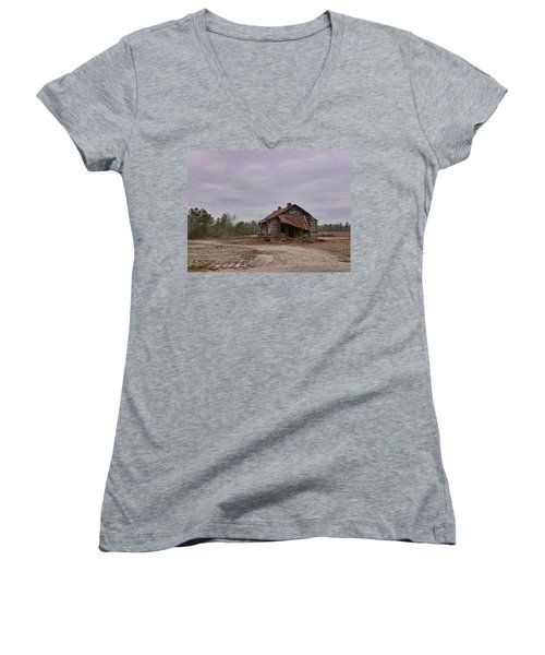 Put Out By The Roadside Women's V-Neck T-Shirt