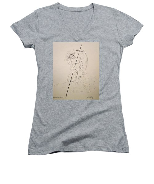 Sacred Women's V-Neck (Athletic Fit)