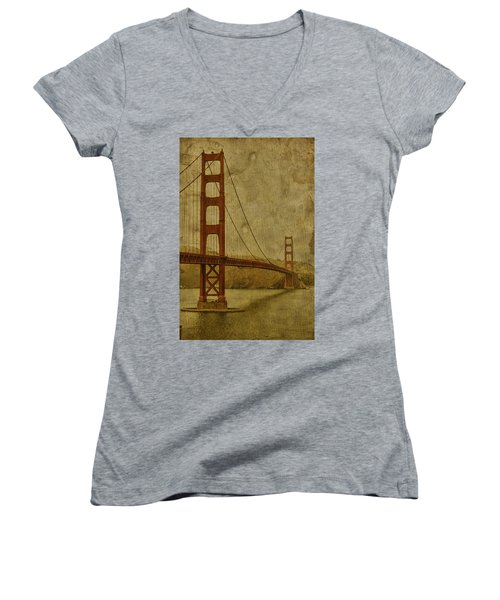Safe Passage Women's V-Neck T-Shirt