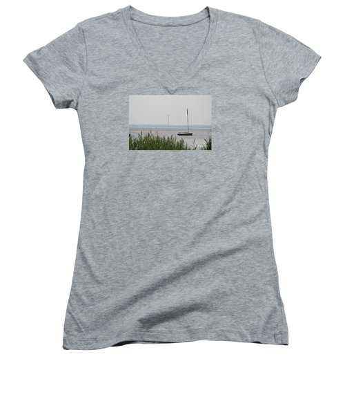 Sailboat Women's V-Neck T-Shirt