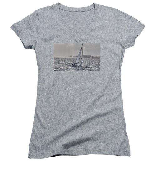 Sailing Bliss  Women's V-Neck