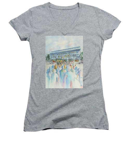San Diego Ideal Org Women's V-Neck T-Shirt