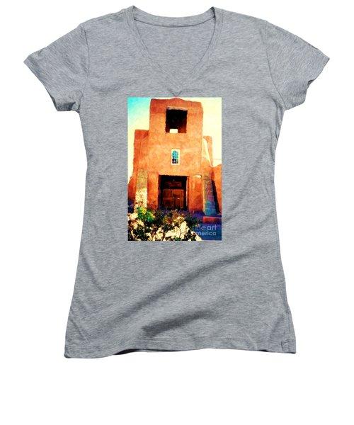 Sanmiguel Women's V-Neck T-Shirt