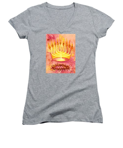 Sar Shalom Women's V-Neck (Athletic Fit)