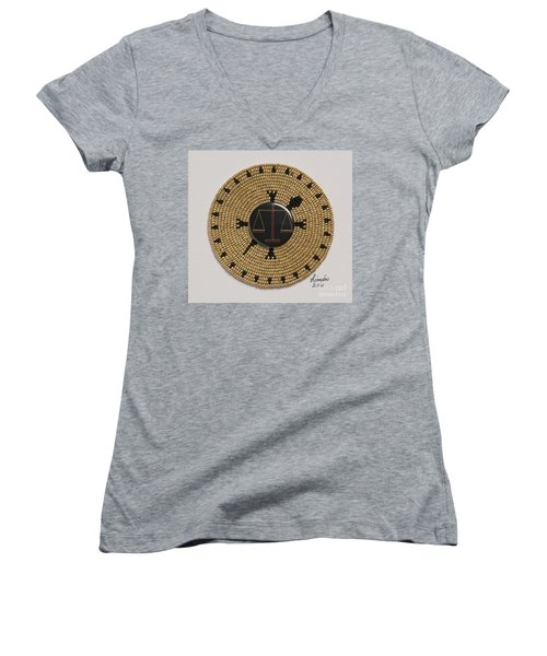 Scales Of Justice Women's V-Neck