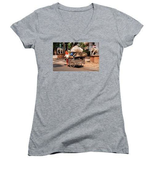 Scavenger Women's V-Neck (Athletic Fit)