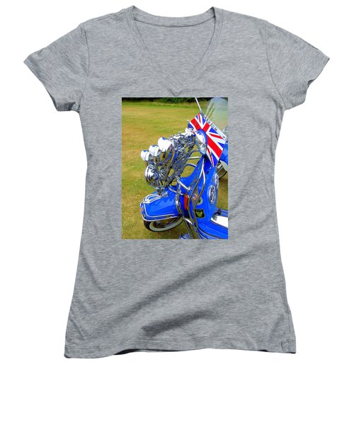 Scooter Dressed For Going Out Women's V-Neck T-Shirt