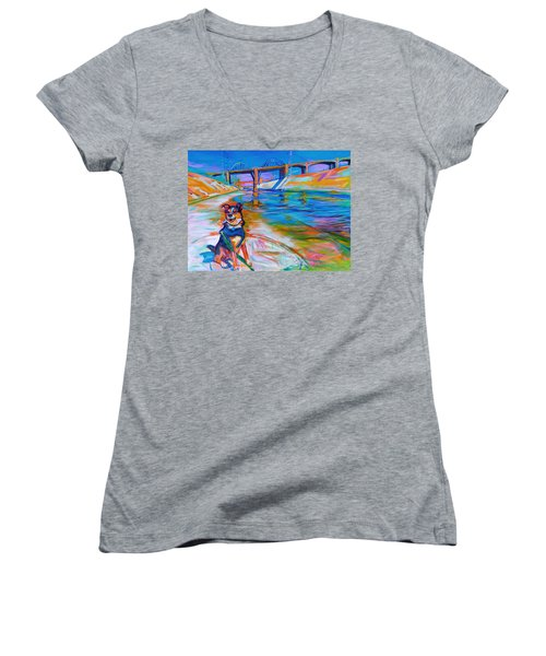 Scout The River Guard Women's V-Neck T-Shirt