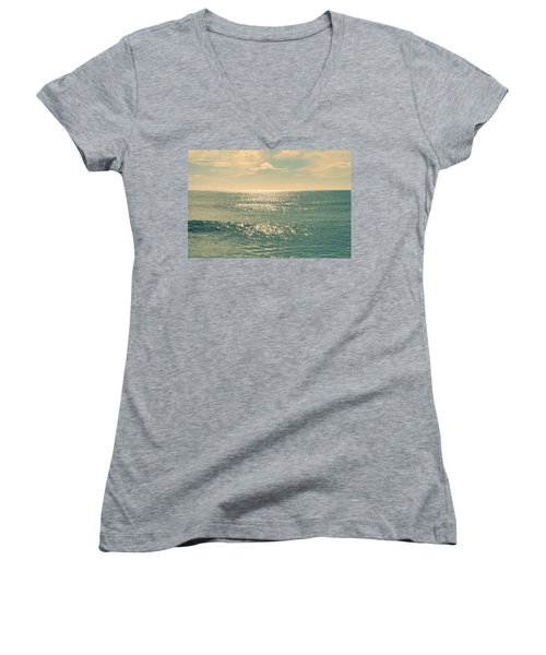 Sea Of Tranquility Women's V-Neck