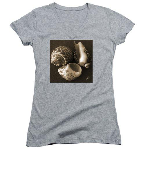 Seashells Spectacular No 1 Women's V-Neck (Athletic Fit)