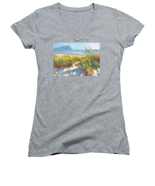Seaside Afternoon Women's V-Neck (Athletic Fit)