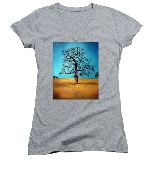 Self Portrait #1 Women's V-Neck T-Shirt