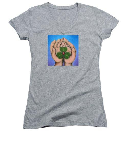 Sent From Above Women's V-Neck T-Shirt