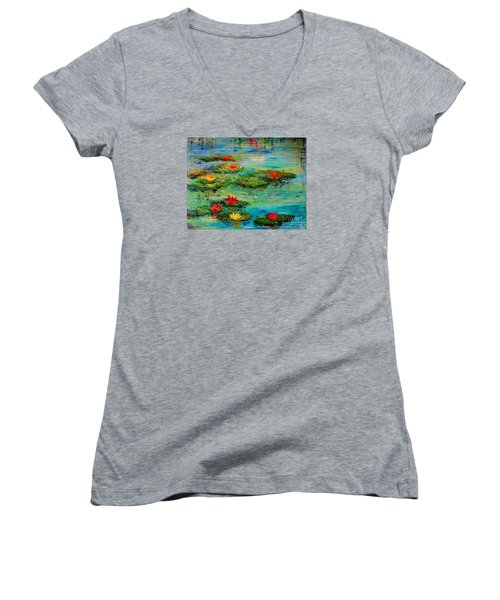 Serene Women's V-Neck T-Shirt