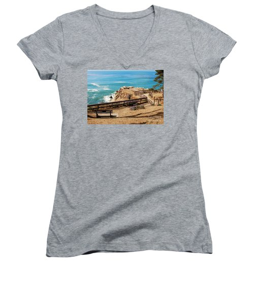 A Place To Relax Women's V-Neck T-Shirt