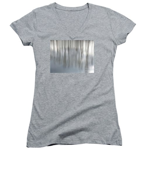 Serenity  Women's V-Neck T-Shirt (Junior Cut) by Michelle Twohig