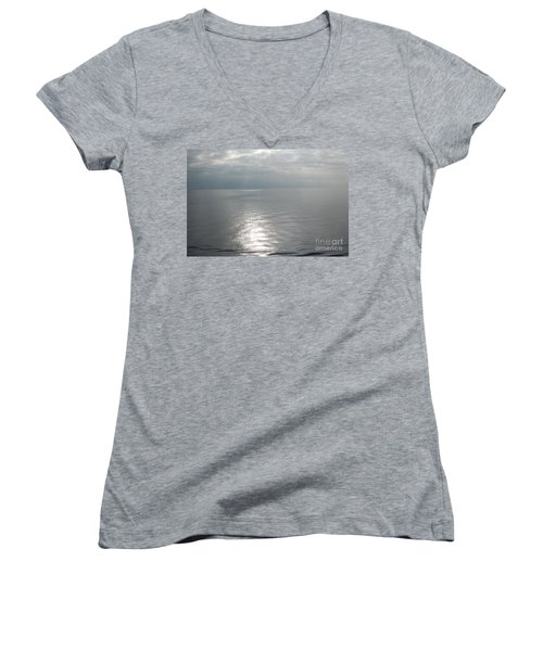 Serenity Sea Women's V-Neck (Athletic Fit)