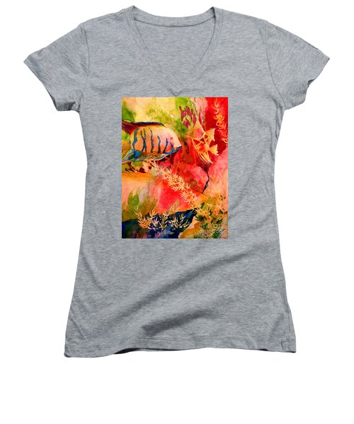 Severums And Angels  Women's V-Neck (Athletic Fit)