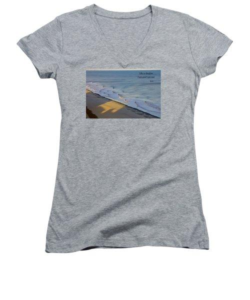 Shadows Women's V-Neck T-Shirt