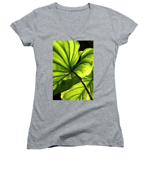 Shapes Of Hawaii 12 Women's V-Neck (Athletic Fit)